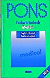 img - for PONS Fachw rterbuch, Medizin, Englisch-Deutsch, Deutsch-Englisch book / textbook / text book