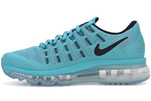 Oscuro Blue Zapatillas Max Nike 10 Azul Gris Wmns Gamma Black 2016 Blast Pnk Running Air EU Wht Mujer de para Z44vwrgq