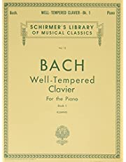 Well Tempered Clavier - Book 1: Schirmer Library of Classics Volume 13 Piano Solo