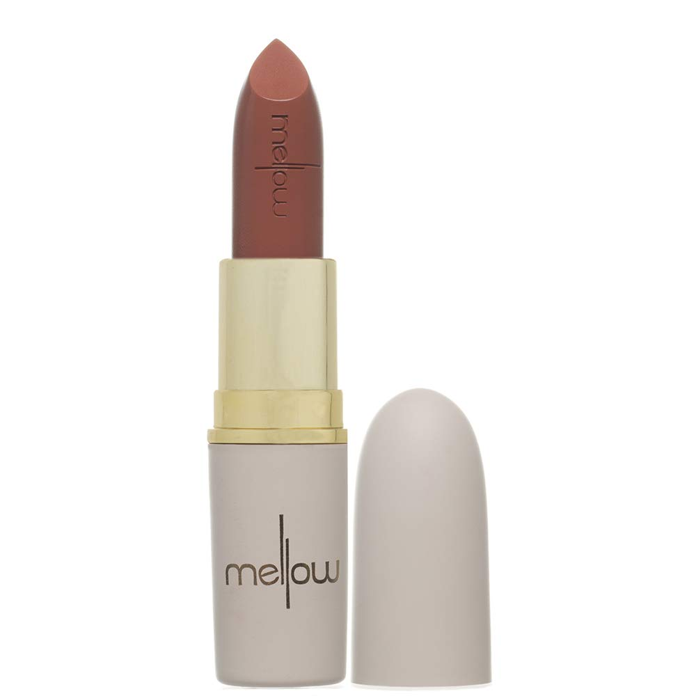 Long Lasting Matte Lipstick (Posh) - Smudge Proof, Moisturizing, Non Sticky Lip Stick - Glides Smoothly - Vegan, Cruelty Free & Paraben Free - Lip Makeup by Mellow Cosmetics - Posh