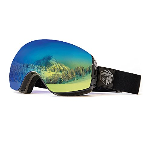 Freedom Optical Ski & Snowboard Goggle package with 2 Lens and Bonus Storage Case by Freedom Optical