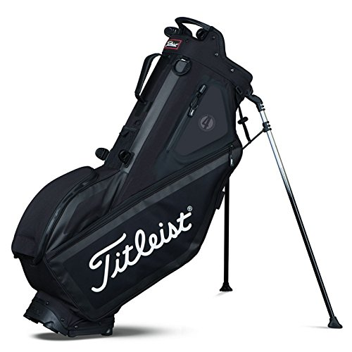 Titleist Players 4 Stand Bag 2017 Black (Players Bags)