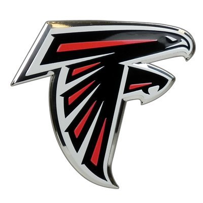 Team ProMark NFL Atlanta Falcons Die Cut Color Automobile Emblem