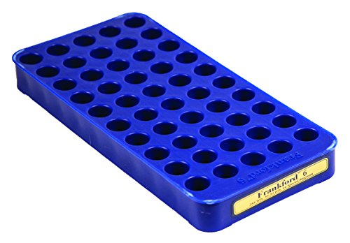 Frankford Arsenal Perfect Fit Reloading Tray for Convenient 50 Round Brass Storage (45 Colt Casull 454)