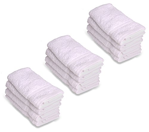 Review Luxury Hotel Washcloths, 100%