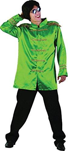 Sgt Pepper Jacket Budget Green (Sgt Pepper Costume)