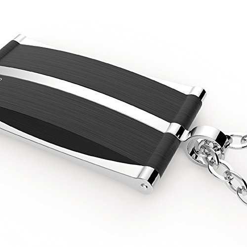 Coolman Pendentif en acier inoxydable pour homme pour chien collier avec pendentif pour enfant
