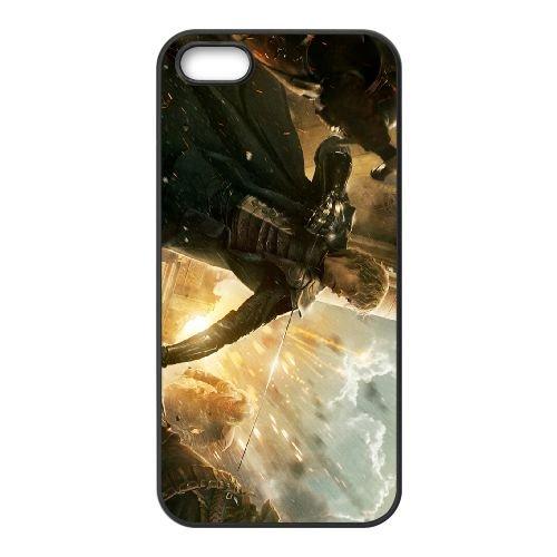 Fandral 001 coque iPhone 5 5S cellulaire cas coque de téléphone cas téléphone cellulaire noir couvercle EOKXLLNCD23639