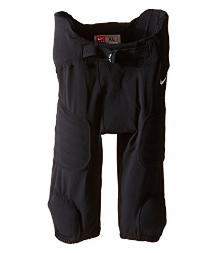 Nike Kids Boys' Hyperstong Integrated Pants (Big Kids), Black/Team White, SM (7-8
