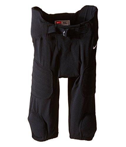 Nike Youth Integrated Football Pants - Nike Kids Boys' Hyperstong Integrated Pants (Big Kids), Black/Team White, SM (7-8