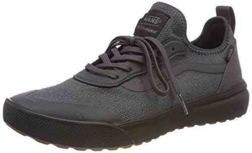 Vans Unisex Adults' Ultrarange AC Trainers, Black (Knit) Black/Asphalt R4w, 3.5 UK 36 EU