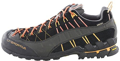 La Sportiva Scarpe da Avvicinamento Hyper Gore-Tex Alpinismo Nero