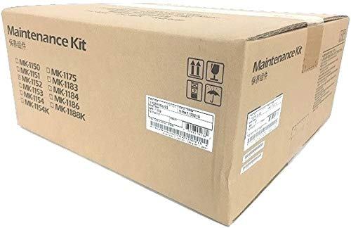Kyocera 1702RV0US0 Model MK-1152 Maintenance Kit for use with Kyocera ECOSYS P2040dw, M2640idw, M2635dw, M2540dw and M2040dn Printers; Up to 100000 Pages Yield, Includes Drum Unit and Developer Unit Drum Unit Maintenance Kit