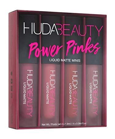 Amazon Com Huda Beauty Liquid Matte Minis Power Pinks Edition
