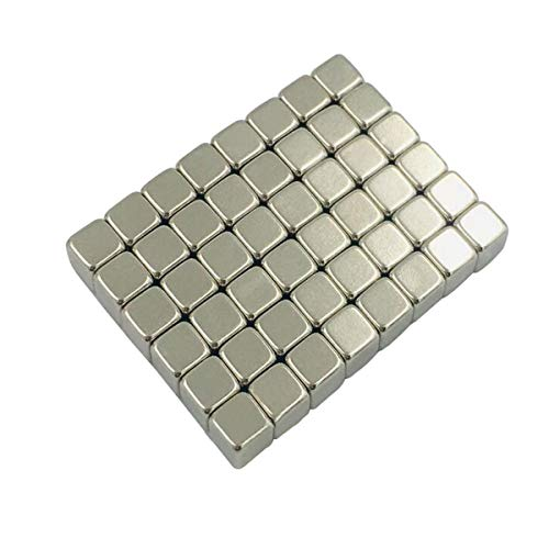 100 Pieces 4x4x4mm Tiny Cube Small Multi-use Refrigerator Magnets for Refrigerator Science Crafts Projects