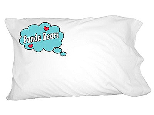 Graphics and More Dreaming of Panda Bears - Blue Novelty ...