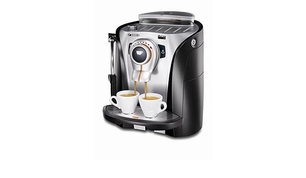 Saeco Odea GO, Negro, Plata, 1250 W, 230 V, 290 x 385 x 370 mm, 8000 g - Máquina de café: Amazon.es: Hogar