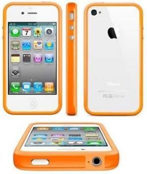 itronik® Bumper Schutzhülle für Apple iPhone 4 und 4s orange