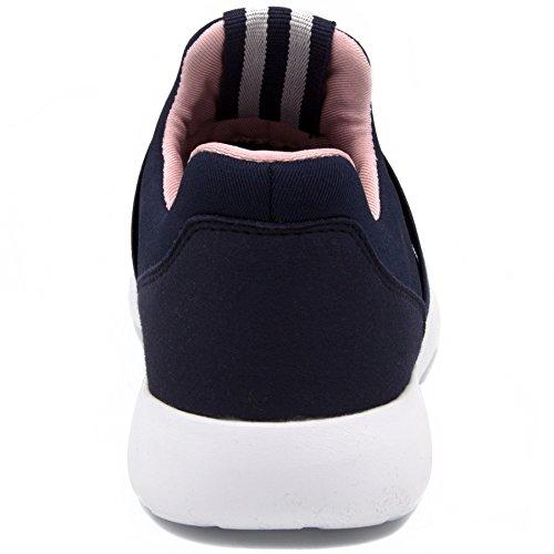Sneaker Da Donna Nautica Fashion Jogger (stringata / Slip-on) Blu Scuro