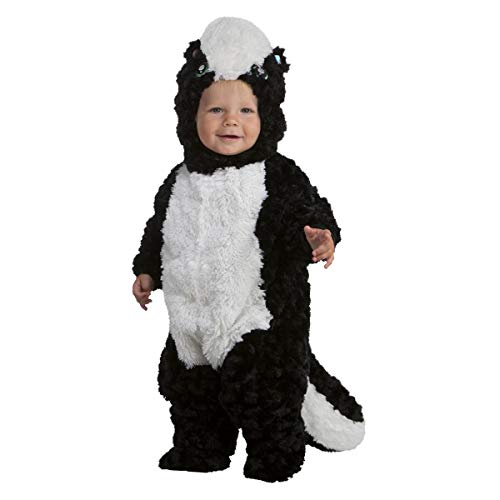 Precious Skunk Toddler Costume, 3T-4T Black -