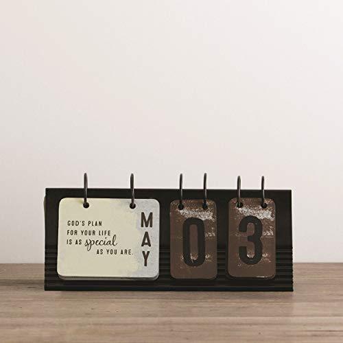 DaySpring By Grace Alone - Metal Desktop Flip Calendar