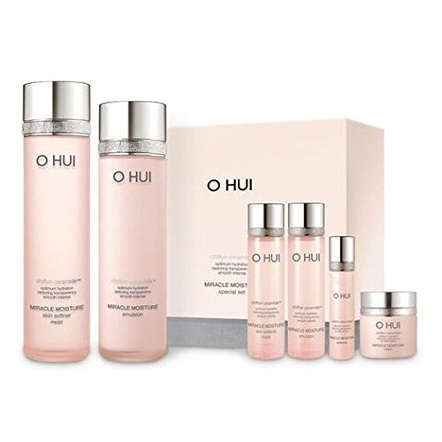 Ohui Miracle Moisture 2-piece Special Gift Set 2015 New Version (Set Moisture Gift)