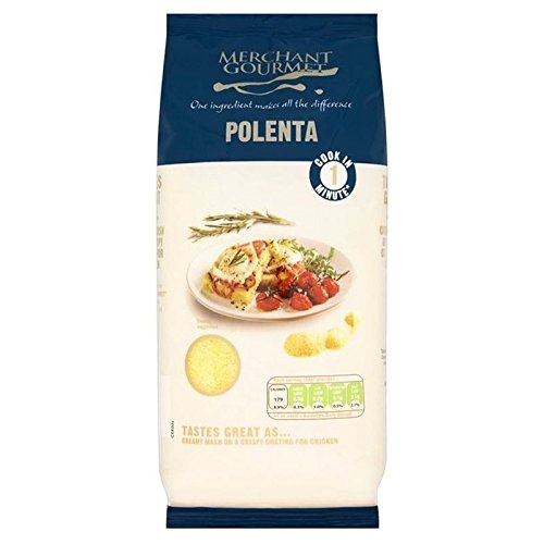 Merchant Gourmet One Minute Polenta (Corn Meal) 500g - Pack of 2