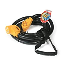 Camco 55194 50 AMP 15' RV Power Grip Extension Cord