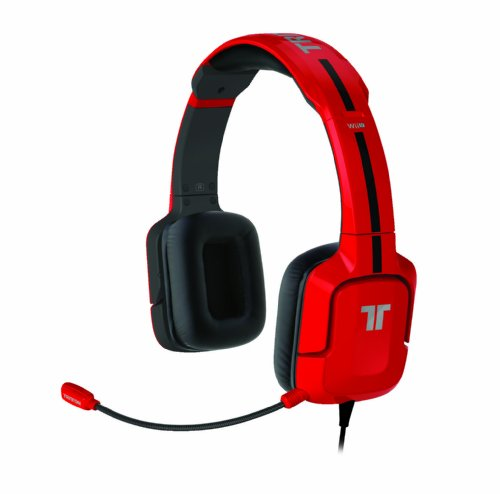 TRITTON Kunai Stereo Headset for Wii U and Nintendo 3DS - Red