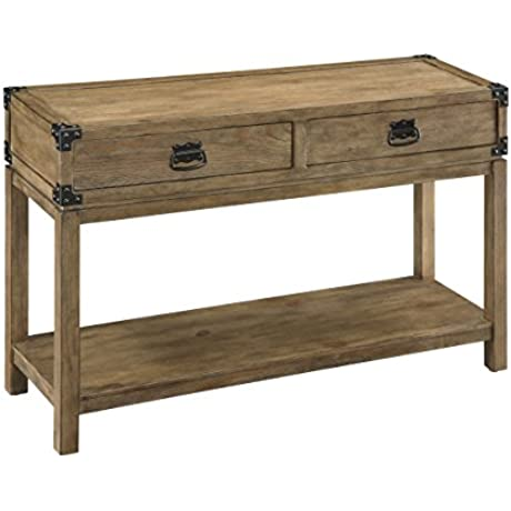 Treasure Trove Accents Two Drawer Console Table 48 X 15 X 30 Natural