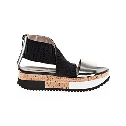 Attilio Giusti D6081485okg0244012 Giocherellona Altezza Comfort Sandalette Di Heel In Gamba Tratto Direzione