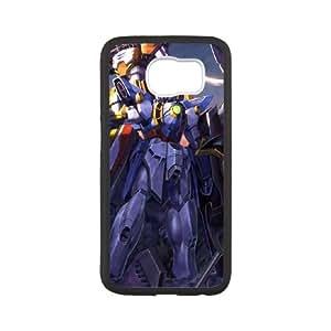 Samsung Galaxy S6 Cell Phone Case Black_Gundam_002 Sginv
