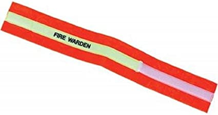 Fire Warden Fire Marshall First Aid Velcro Armband