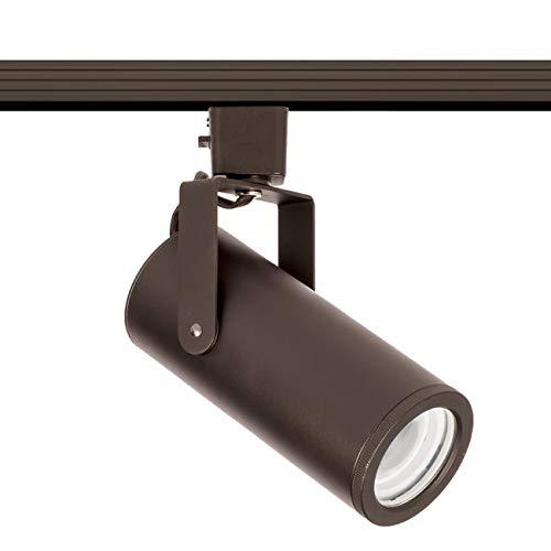 WAC Lighting H-2020-940-DB LED2020 Silo X20 Beamshift Head H Track Fixture Dark Bronze