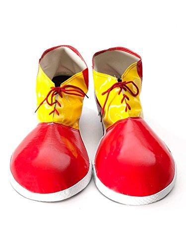 Tri-Color Clown Shoes ()