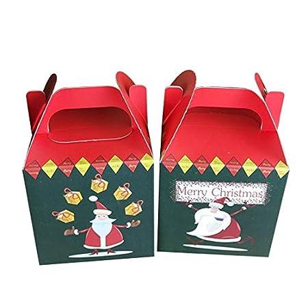 Baby Kids Christmas Eve Cute Xmas Tree Print W//Bell Apple Box Xmas Storage Case