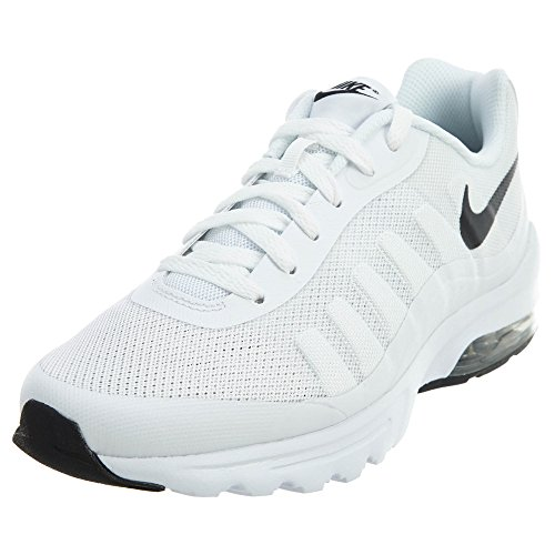 Galleon - Nike Mens Air Max Invigor Running Shoe White Black 8.5 215dd8001