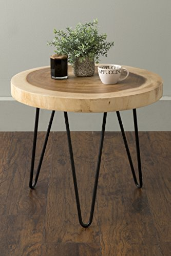 Natural Wood Round Table - 6