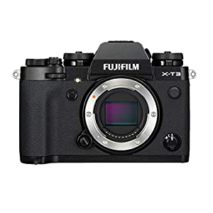 Fujifilm X-T3 Mirrorless Digital Camera w/XF18-55 Lens (Black) Accessory Bundle with Sandisk 128GB SD Card, 2 NP-W126…