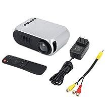 YG320 LED Projector 1080P WiFi Screen Mirroring Support HDMI VGA AV USB Portable Mini Projector Home Theater Cinema
