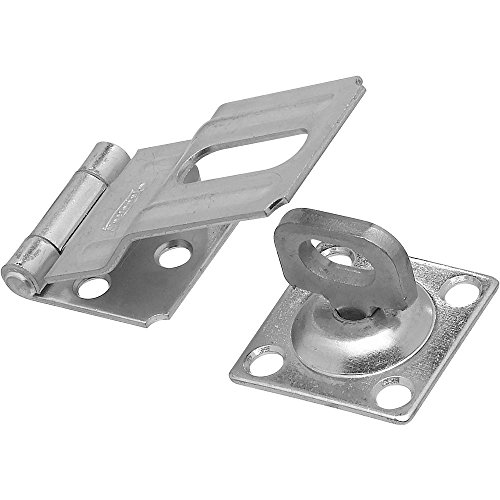 National Hardware N102-855 V32 Swivel Staple Safety Hasp in Zinc plated