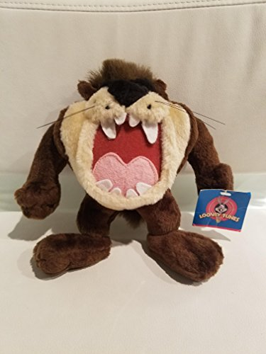 Play-By-Play 7 Inches Looney Tunes Taz (Tasmanian Devil) Plush Doll in a Gift Bag