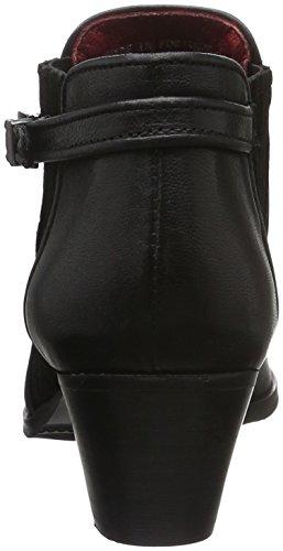 para Es Negro London De Lavato 30811 Estar por Mujer Buffalo Casa Zapatillas Ante Ovn7Cqx