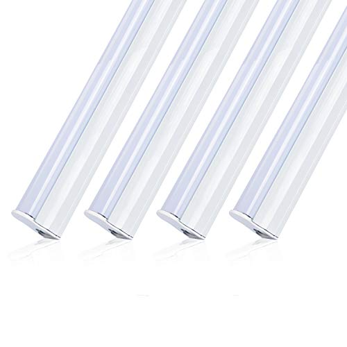 Zoopod 30Pack 10Pack T5 Integrated Single Light Fixture 4ft 18W Cool White 6000K Frosted Cover,Plug-and-Play,Ceiling and Under Cabinet Light, Corded Electric with Built-in ON/Off Switch by zoopod (Image #9)