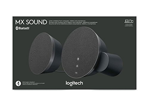 Logitech MX Sound 2.0 Multi Device Stereo Speakers with Premium Digital Audio for Desktop Computers, laptops, and Bluetooth-Enabled by Logitech (Image #3)