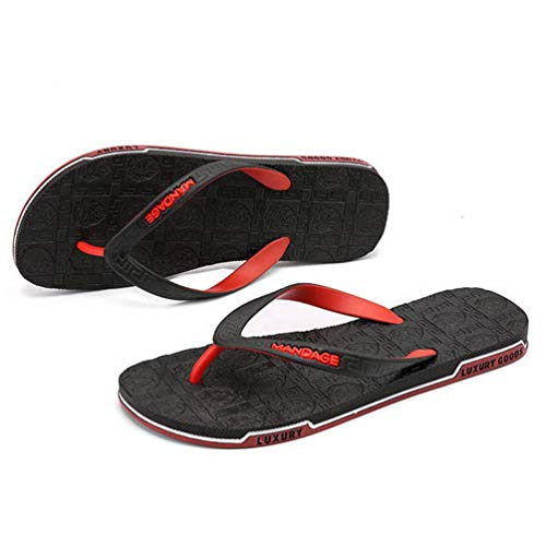 Pantofole Infradito Nero Sanadls da Qianliuk Uomo Summer Casual Beach gRFwvcz6q7