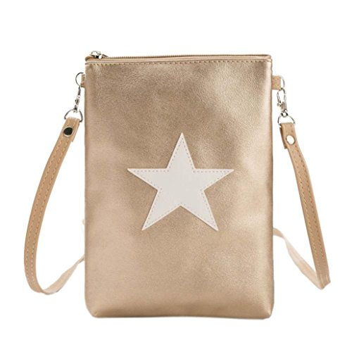 Bags Star Girls Messenger squarex Shoulder Package Handbag Phone Purse Gold Bag Bag Lovely 6wg6qT