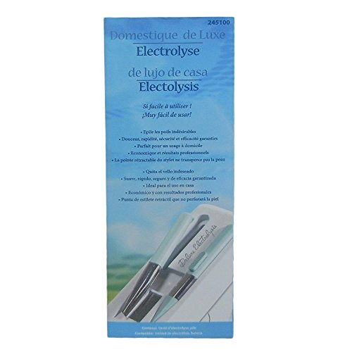 Clean and Easy Deluxe Home Electrolysis
