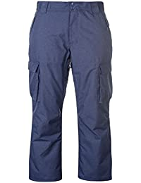 Mens Boost Ski Pants Salopettes Trousers Bottoms Zip Insulated Blue X-Large