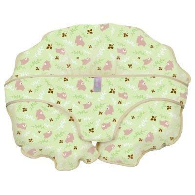Leachco Cuddle-U Nursing Pillow Replacement Cover Green Bears